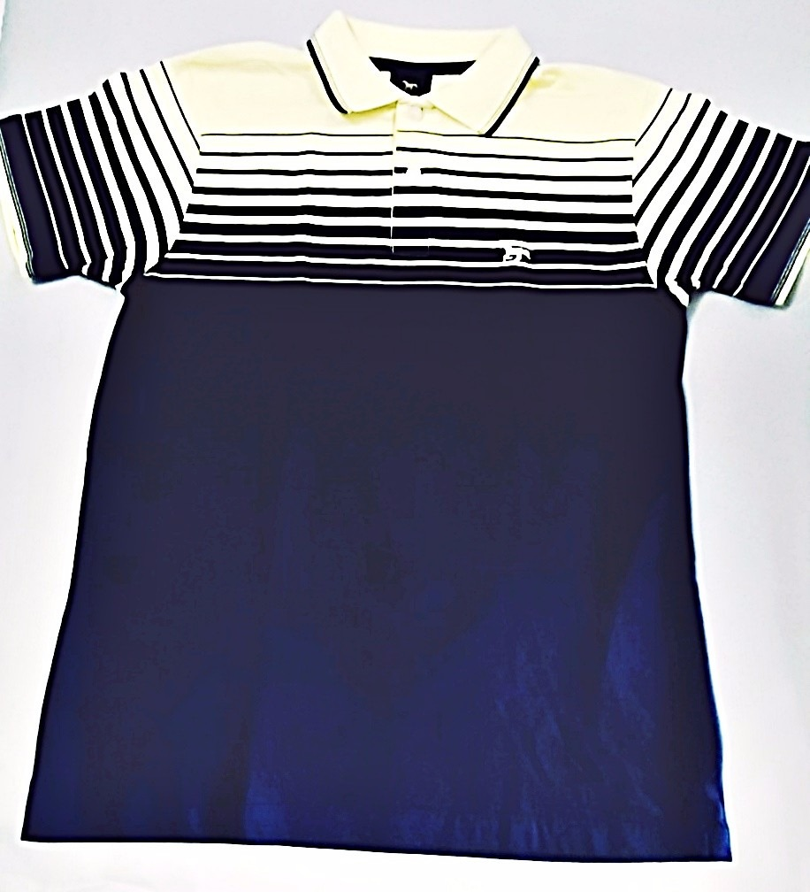 camisa polo masculina valmor azul amarelo. Carregando zoom. f41cab2ea36e0