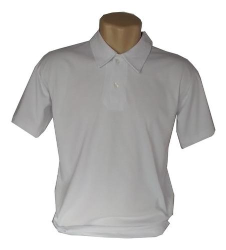camisa polo masculino malha 100% algodão