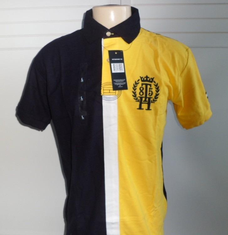 Camisa Polo Masculino Tommy Hilfiger Original - R  139 6ad3a40604376
