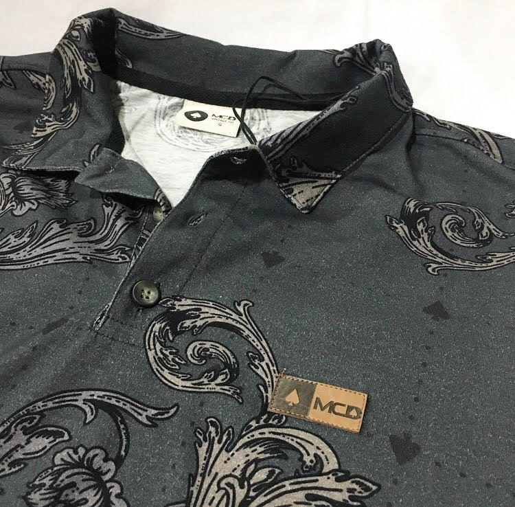Camisa Polo Mcd Arabesc Vintage Fit More Core Division - R  219 b7f1f2f953d