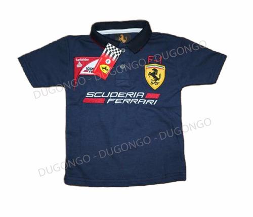 camisa polo menino