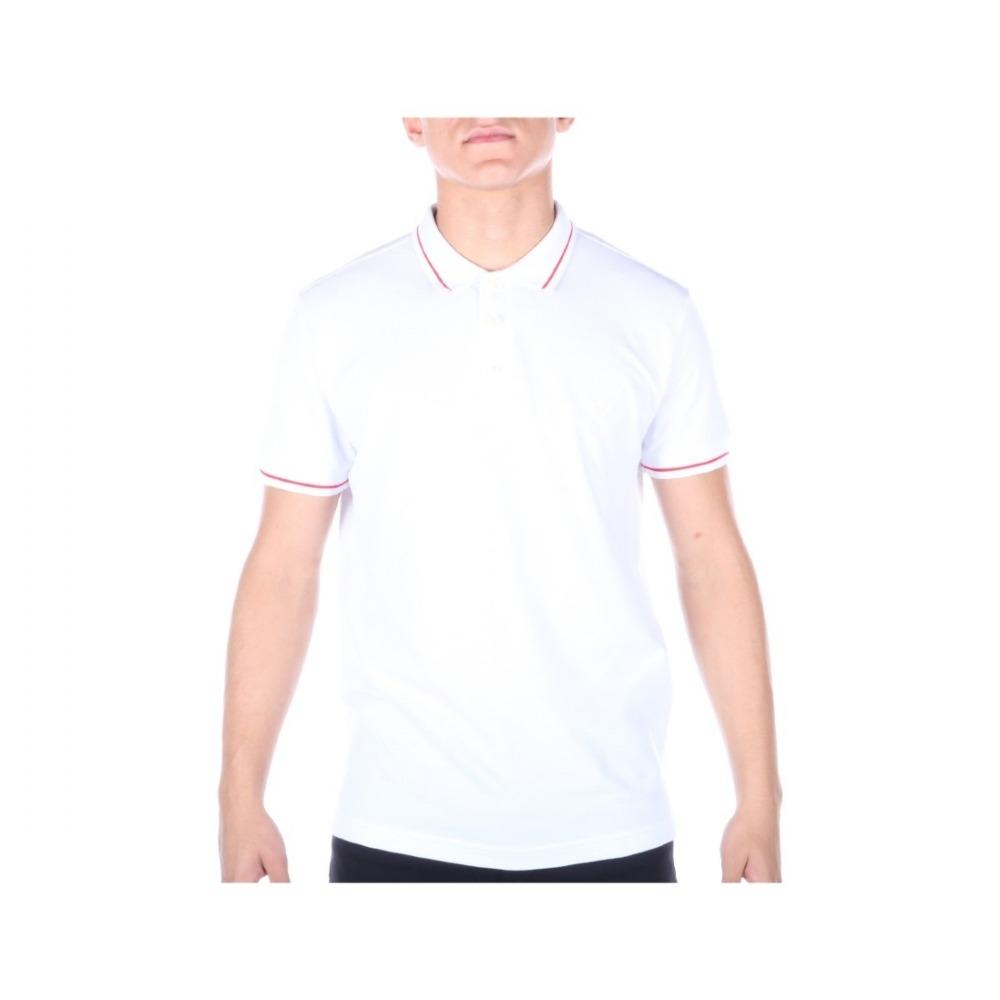 camisa polo m.officer masculina slim piquet friso contraste. Carregando  zoom. 36a94d3726fb6