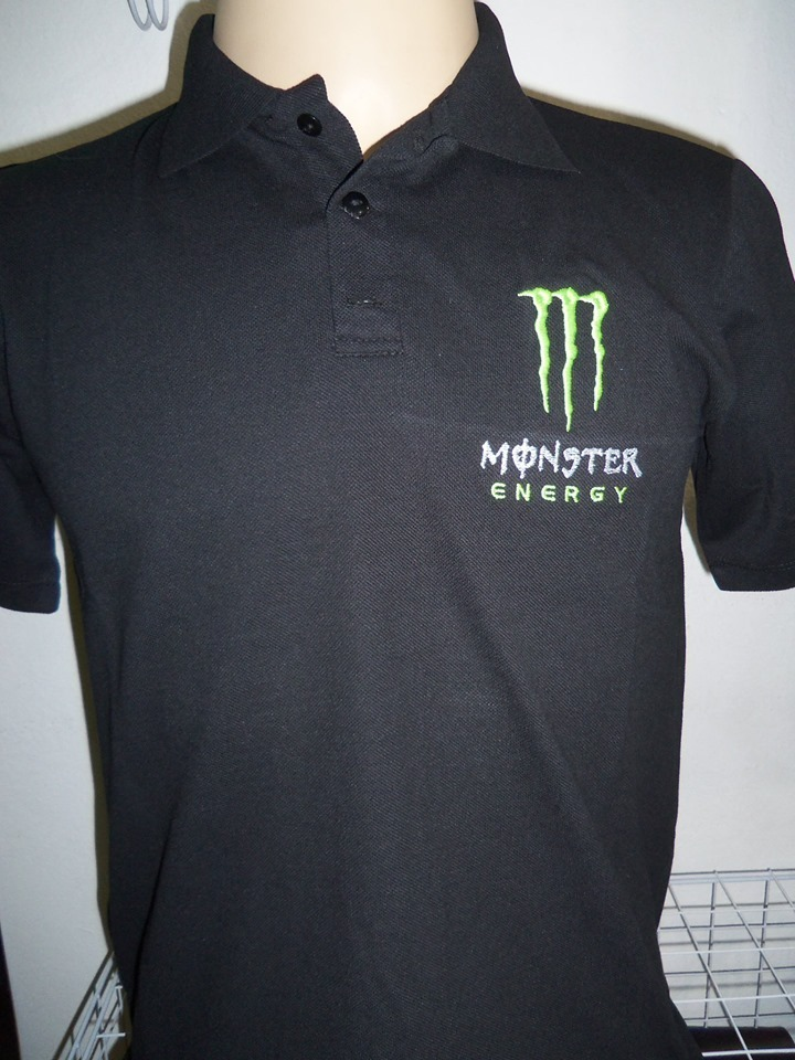 camisa polo monster bordada. Carregando zoom. c7475f98c8eea
