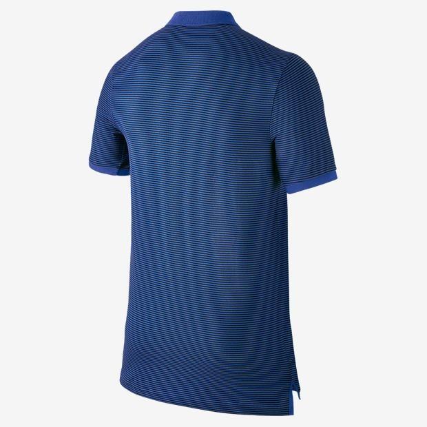 Camisa Polo Nike Barcelona Authentic Gs Slim Masculina - R  129 c6691bbc3f6f7