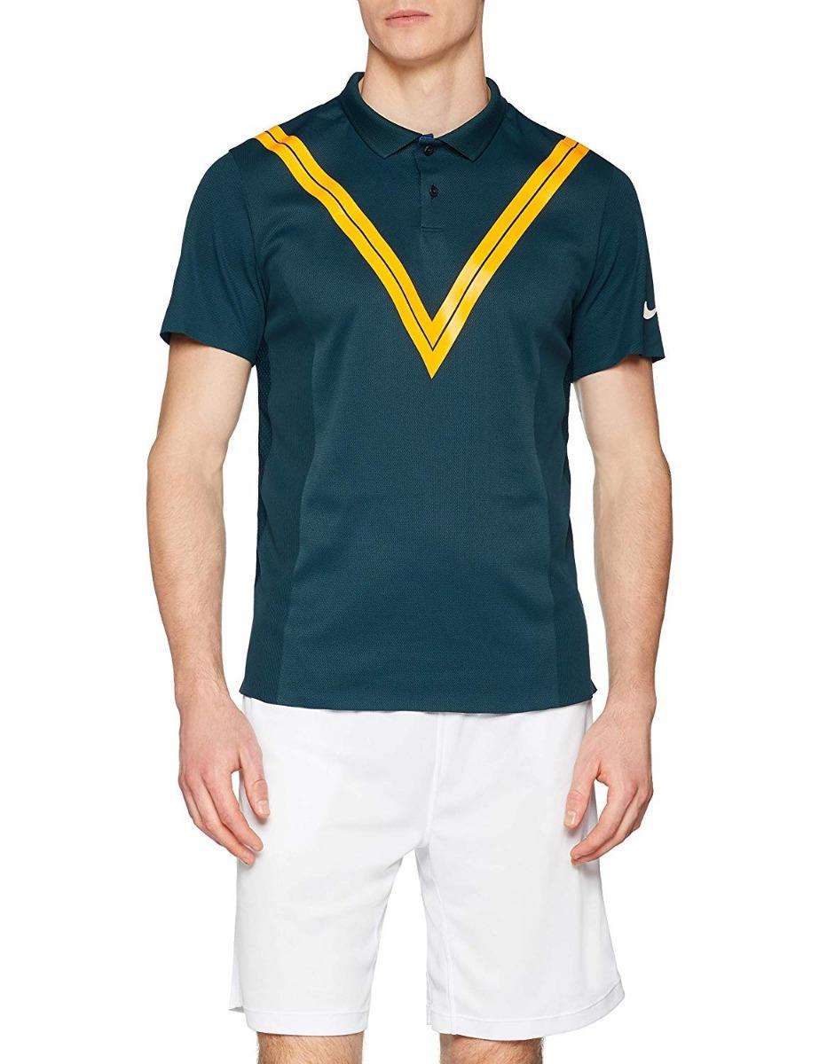 camisa polo nike court roger federer tech knit cool rf. Carregando zoom. 0d6ecc79b4153