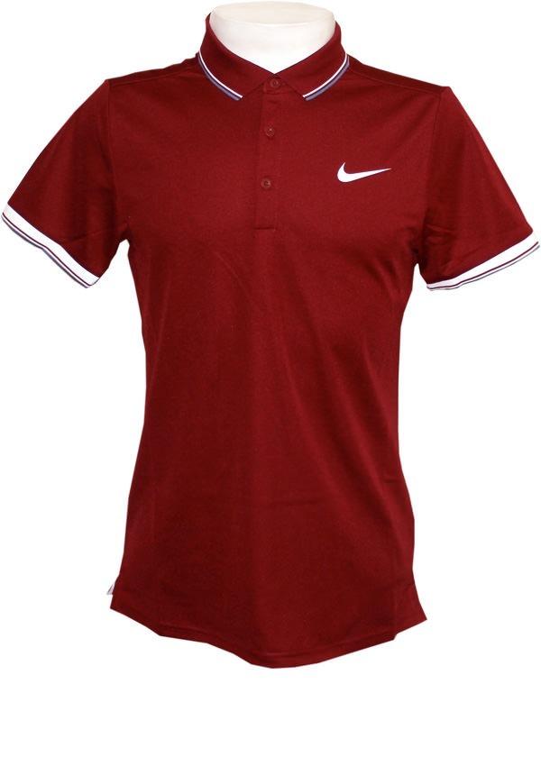 a119a4c570 camisa polo nike court vinho original. Carregando zoom.
