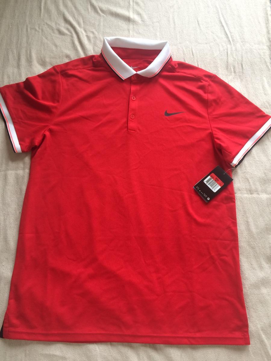 camisa polo nike dri-fit masculina vermelha original. Carregando zoom. 64681278cc63c