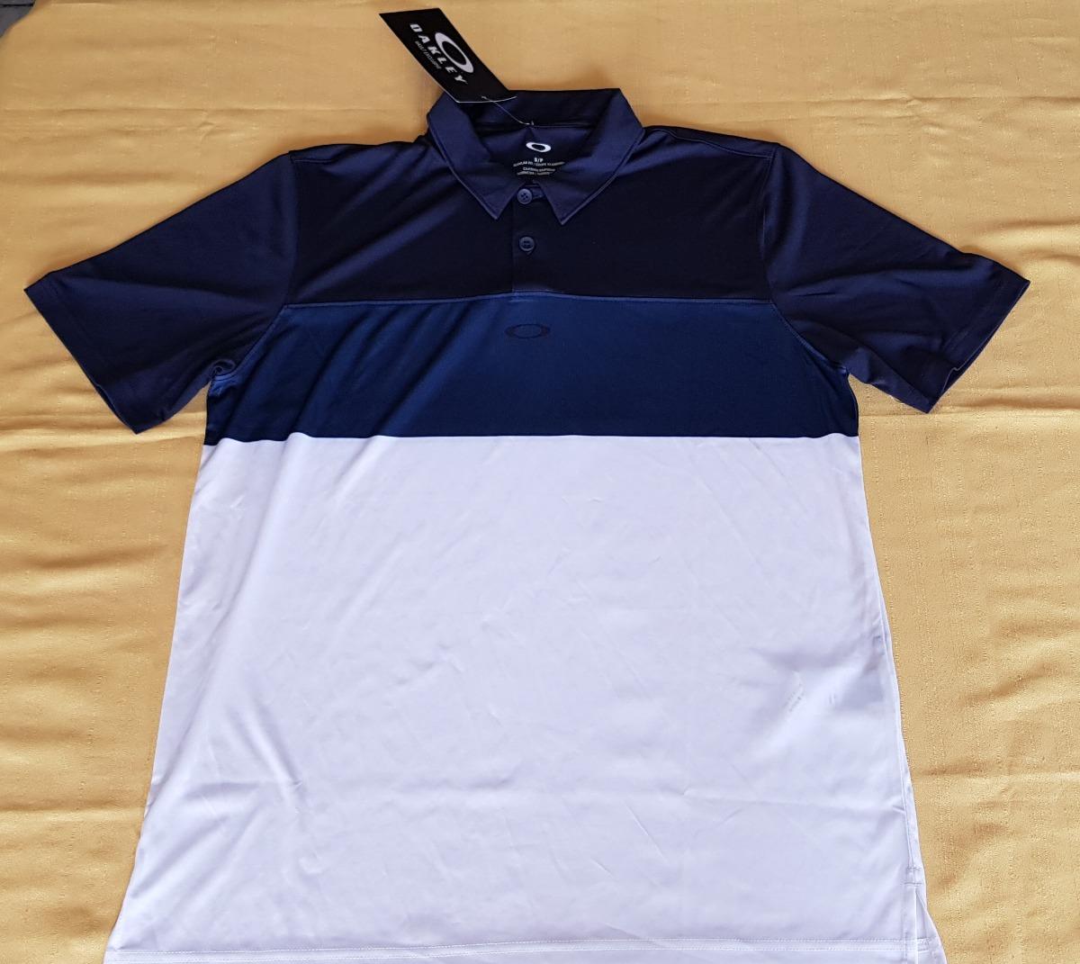 Camisa Polo Oakley Horion Polo Blue Shade Talla Chica -   649.00 en ... d971ab1c3d2