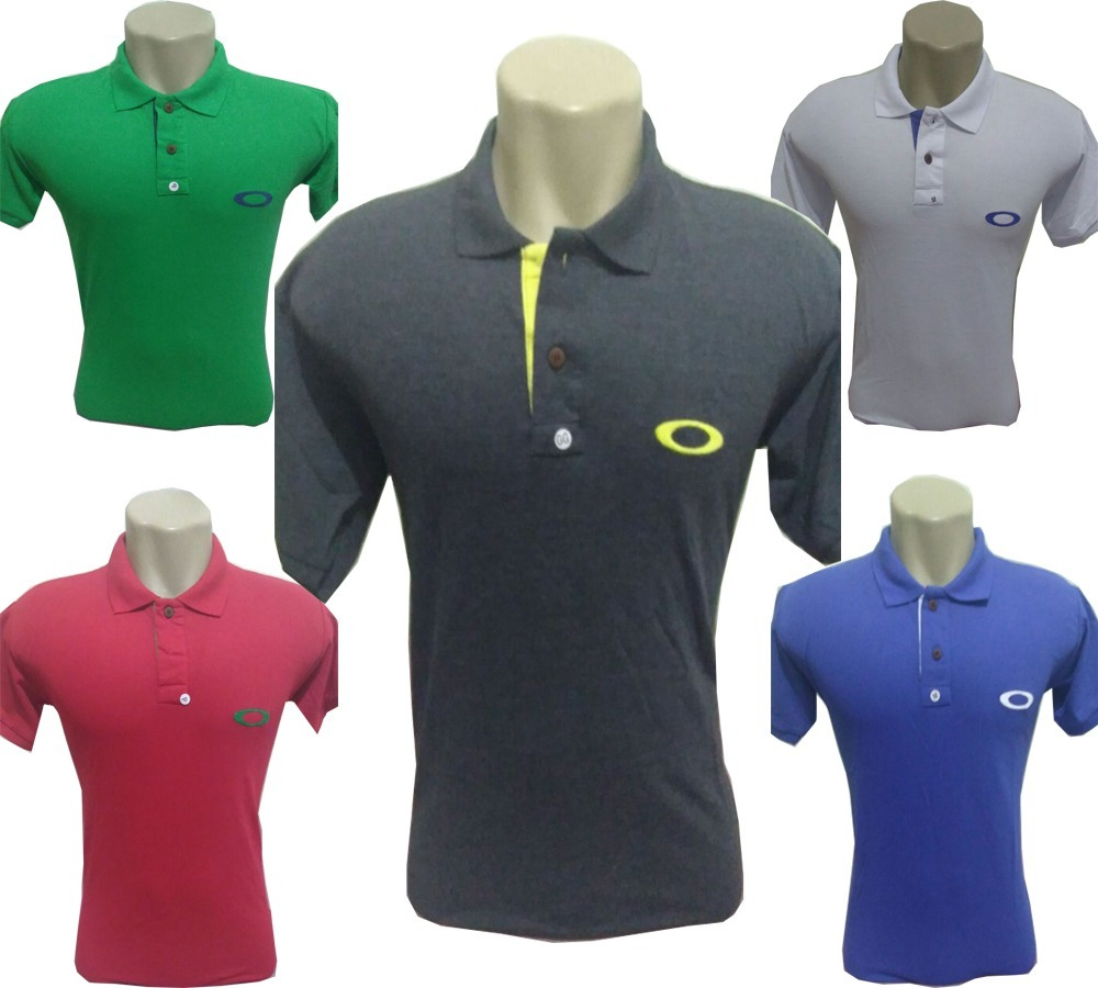 ... Camisa Pólo Oakley Promoção Camisetas Barato Blusa Oakley - R 35 190c402651bcb