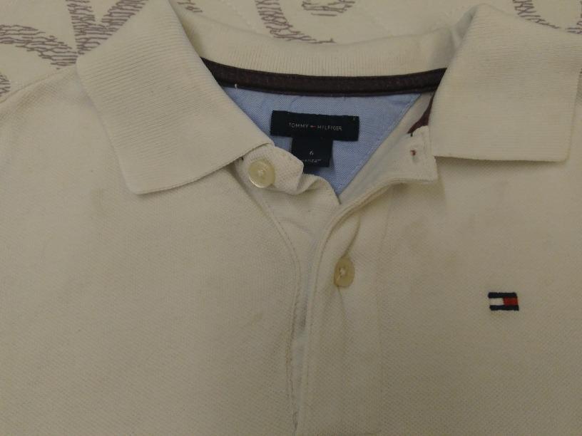 1345fdc6f2 camisa polo orig tommy hilfiger tam 6 anos. 4 Fotos