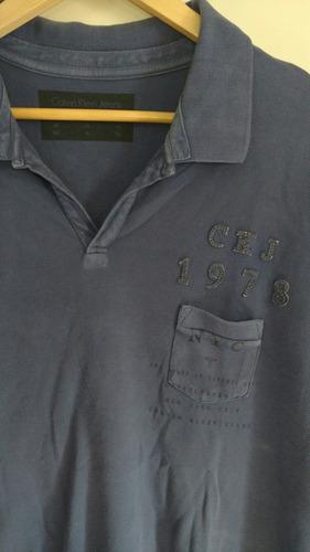 camisa polo original calvin klein jeans unica perfeita