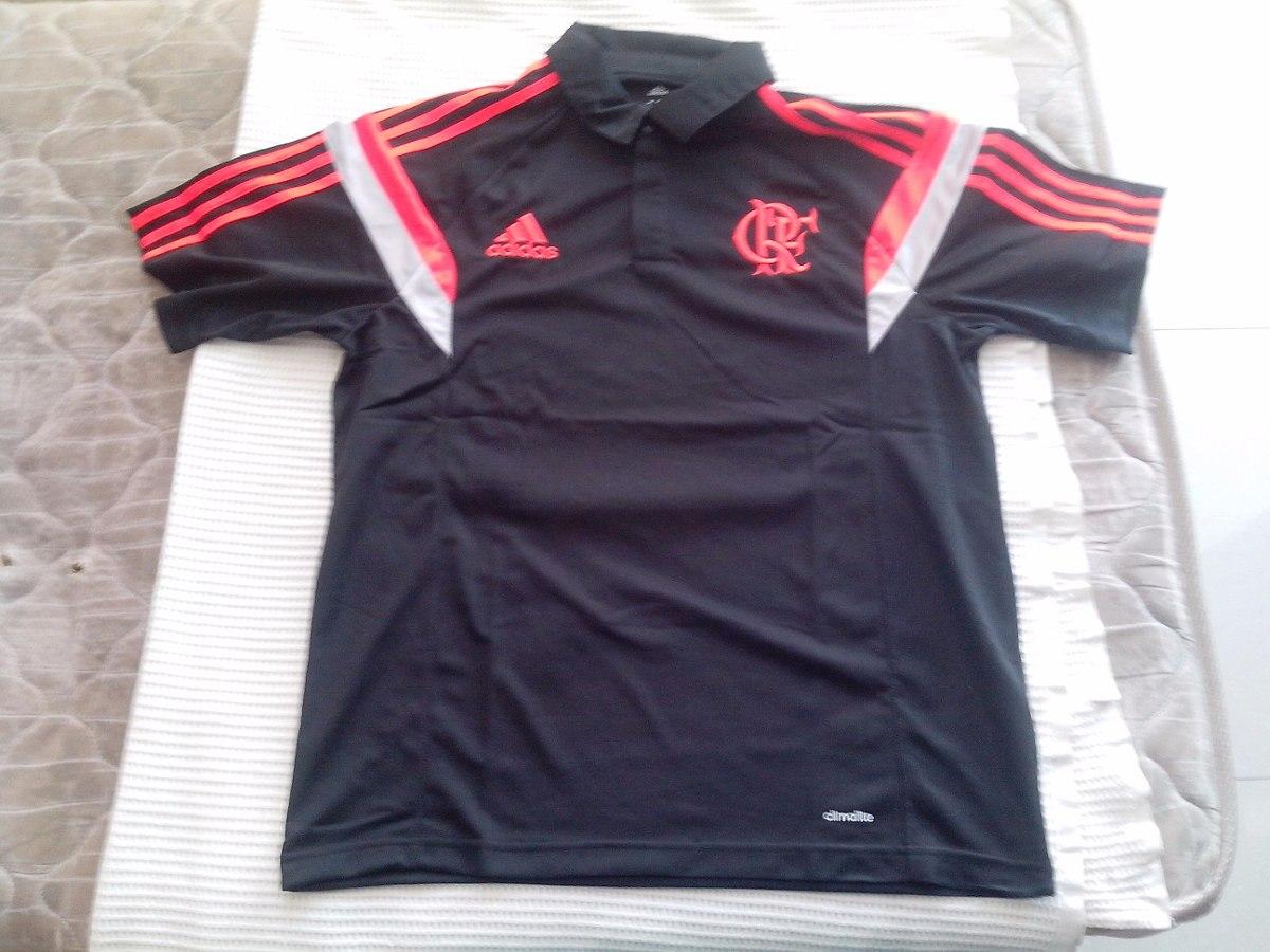 camisa pólo original comissão técnica do flamengo 2014. Carregando zoom. 19b8577dd1c01