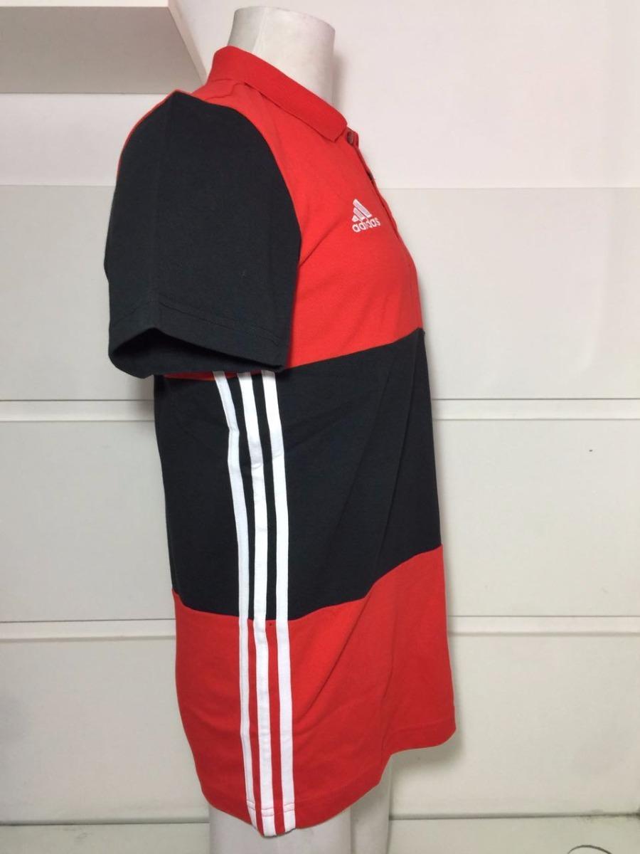 f688c80440 camisa polo original flamengo adidas 3s comissão técnica. Carregando zoom.