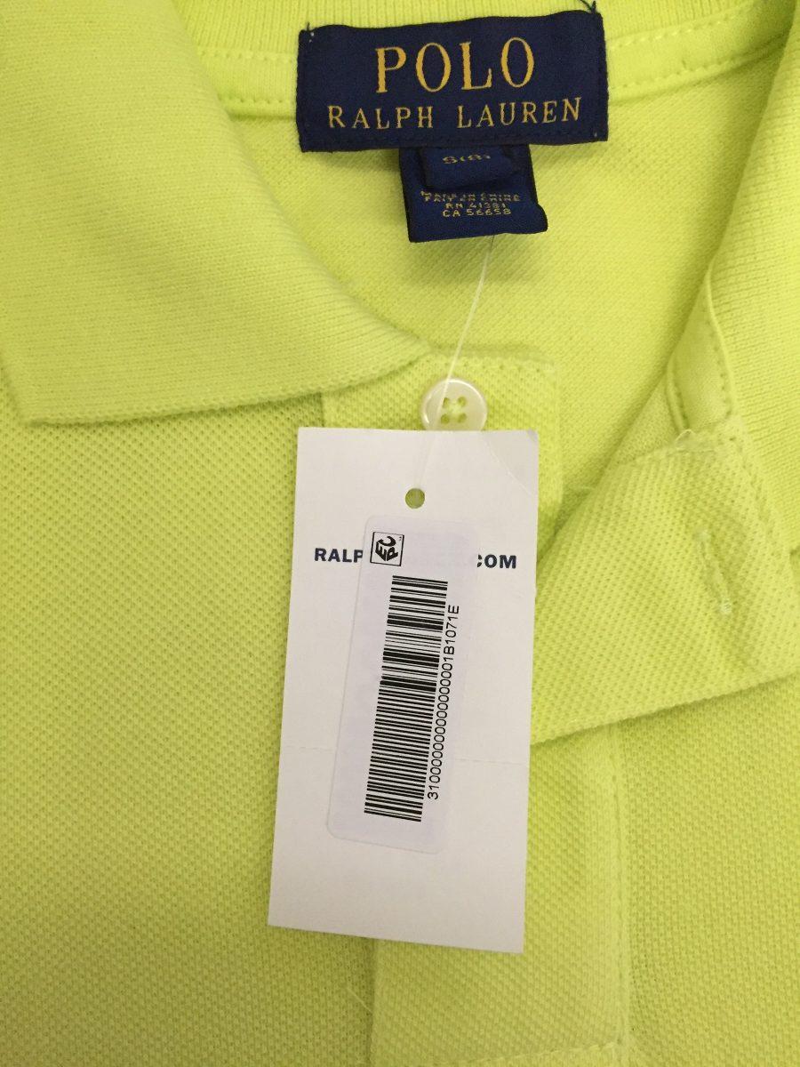 camisa polo original polo ralph lauren tam 8 anos - nova. Carregando zoom. 92d8e8aa7f9