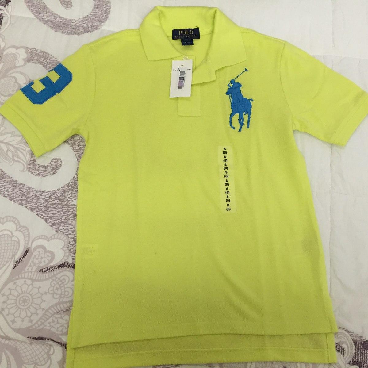 camisa polo original polo ralph lauren tam 8 anos - nova. Carregando zoom. 1863afacd06