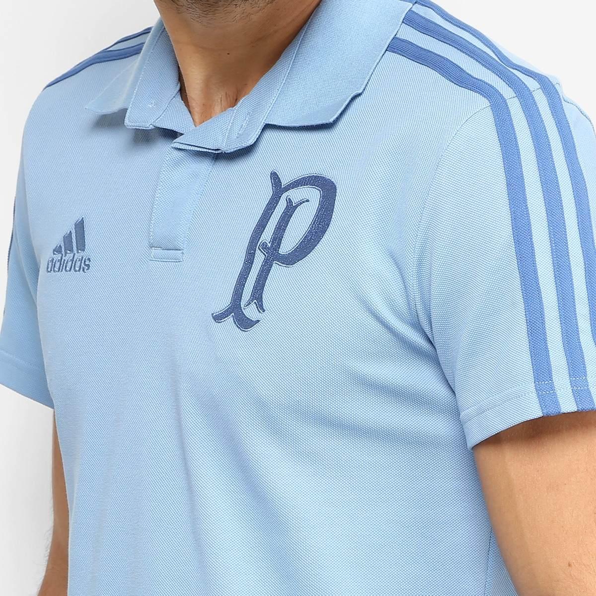 camisa polo palmeiras adidas cotton masculina. Carregando zoom. b4d14addee9c9
