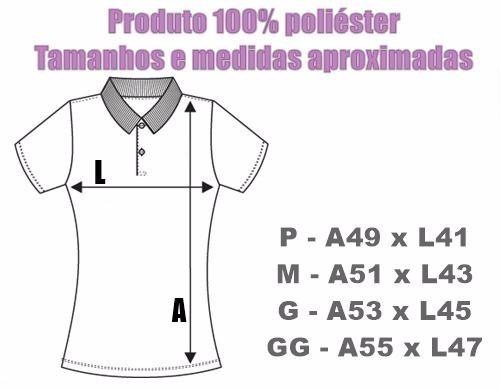 Camisa Polo Palmeiras Modelo Baby Look Feminina - R  62 c3894be04cbc4
