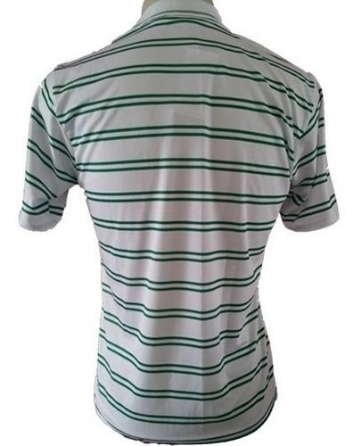 camisa pólo palmeiras modelo trento masculina