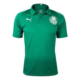 Camisa Polo Palmeiras Puma Masculino 2019 2020 Verde