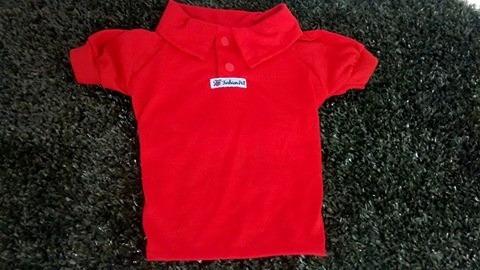 camisa polo para cachorro roupas pet 8 ao 13 west highland