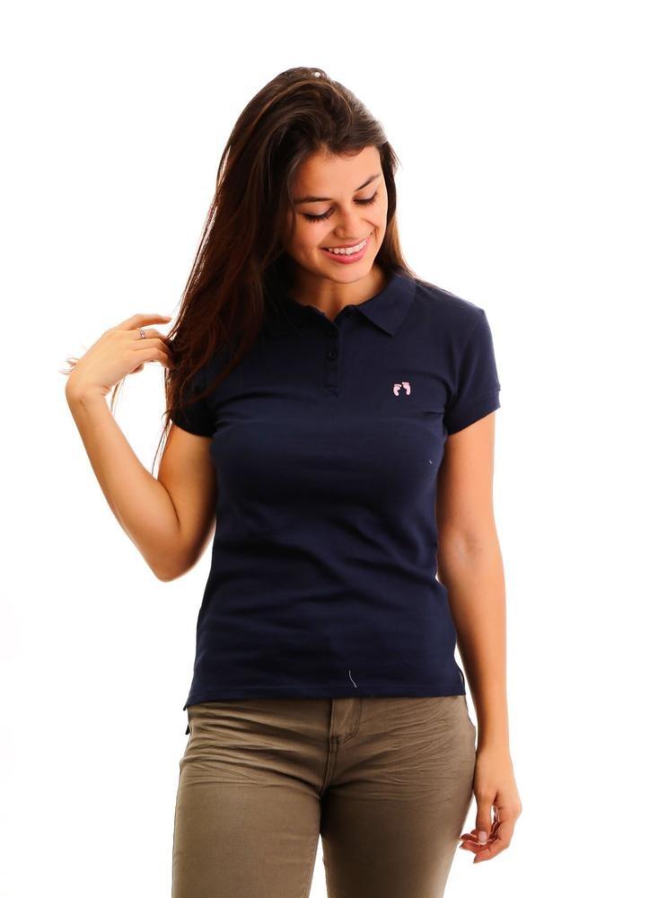14ca92abe1f Camisa Polo Para Mujer Hang Ten Piqué Azul Oscuro -   242.10 en ...