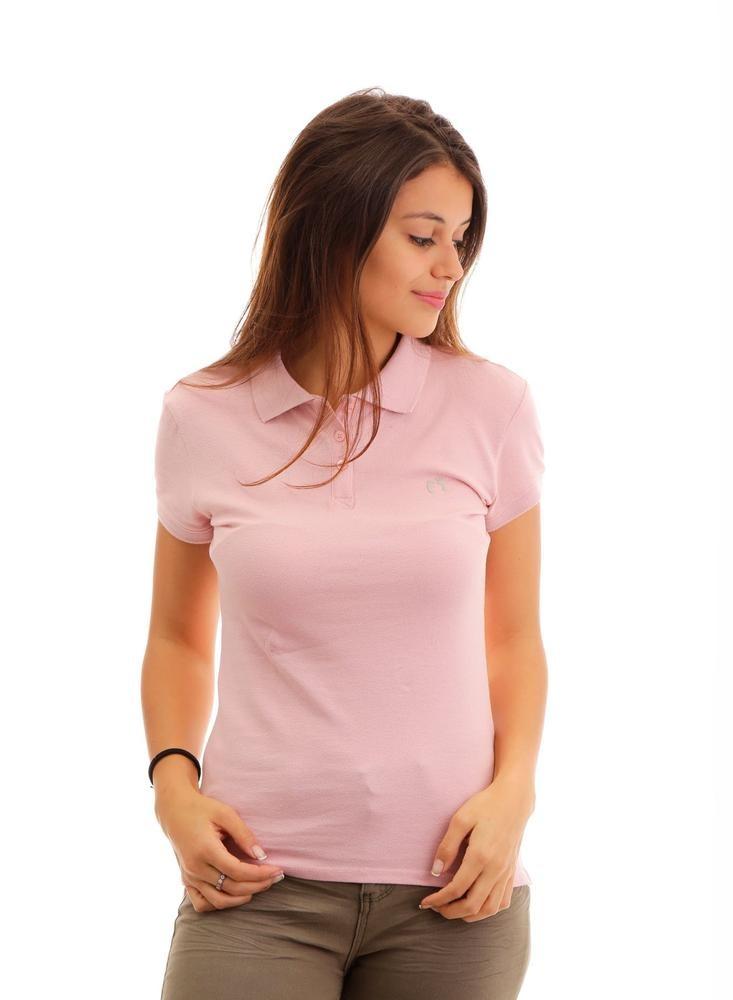 b5c211e410 Camisa Polo Para Mujer Hang Ten Piqué Rosa Claro -   228.65 en ...