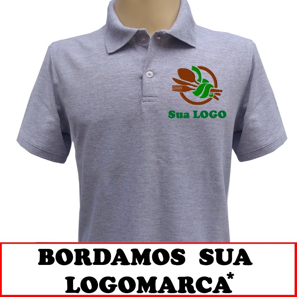 e08b0b2067 camisa polo personalizada bordada uniformes camiseta polo. Carregando zoom.