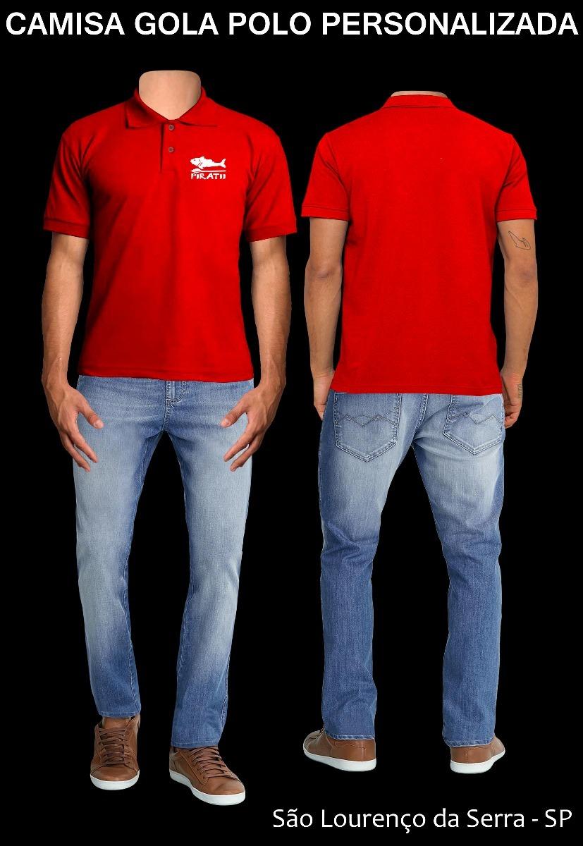 b52269b68e26d camisa polo piquet coloridas personalizadas. Carregando zoom.