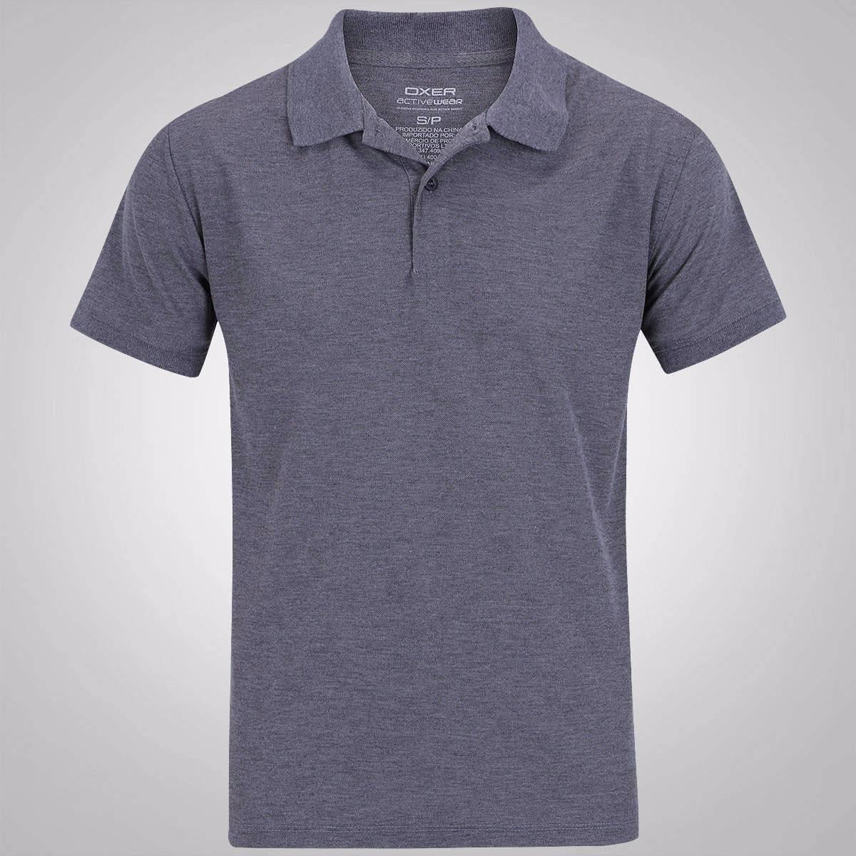 camisa polo piquet lisa cores masculina sem bolso. Carregando zoom. 853c392887073