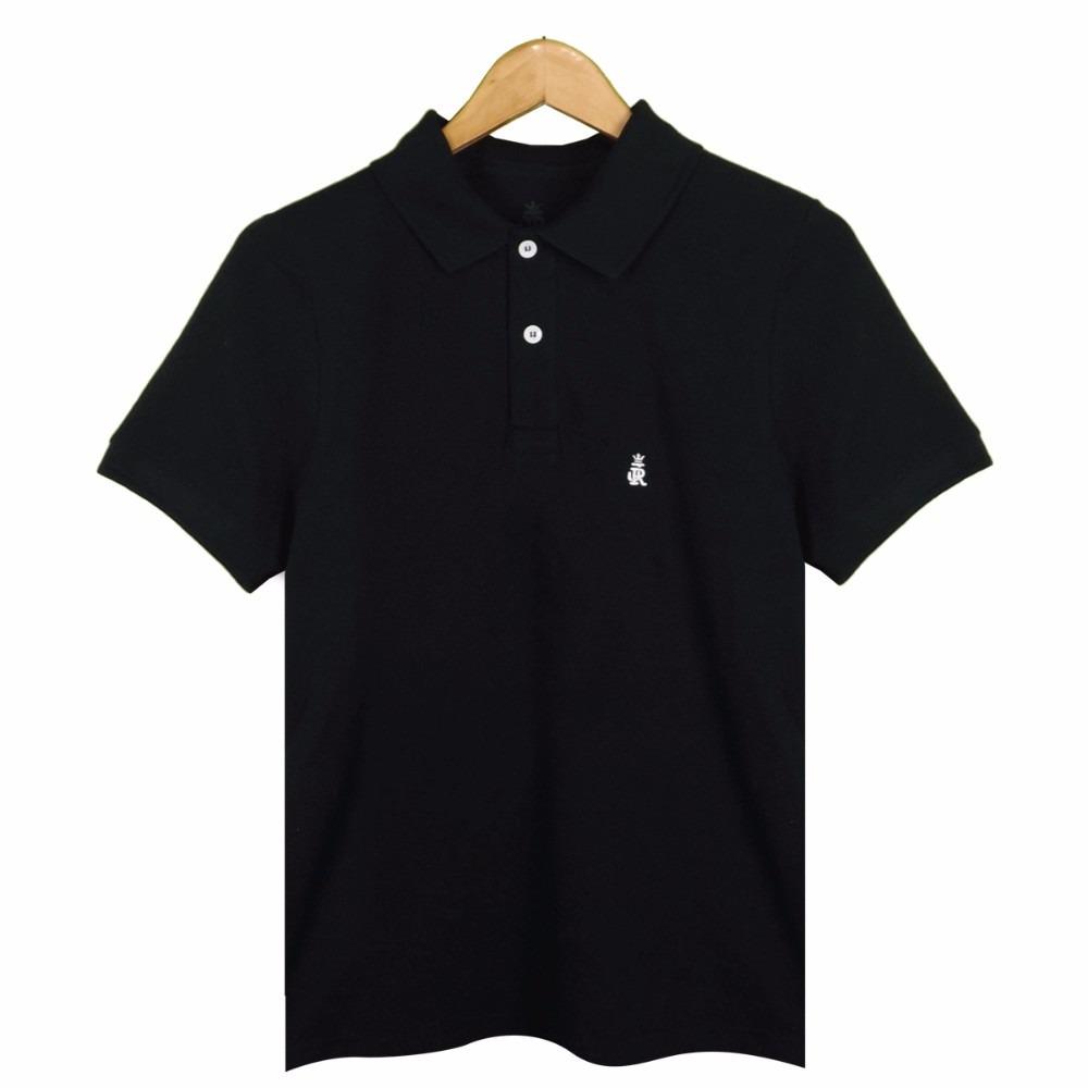 camisa polo piquet masculina 100% algodão promoção. Carregando zoom. 92bd4c26bfa9b
