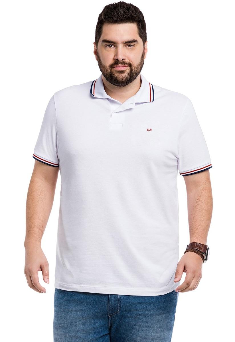 712173de63 camisa pólo plus size wee! malwee masculina. Carregando zoom.