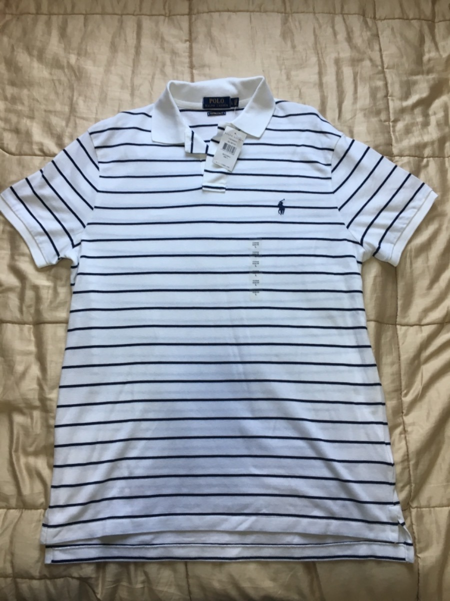 camisa polo polo ralph lauren original masculina slim fit. Carregando zoom. 88f7f26901a