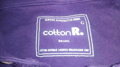 camisa polo - polo  - tam. g - cotton