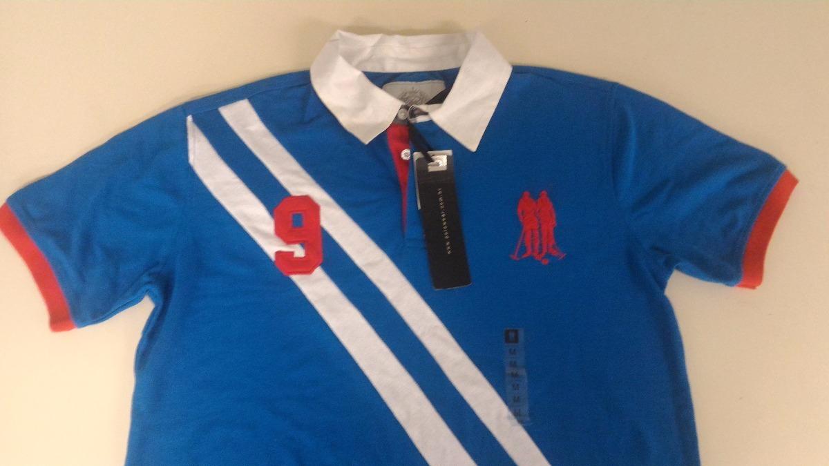 camisa polo polo wear original azul estilo golf. Carregando zoom. e4475c1bf3f68