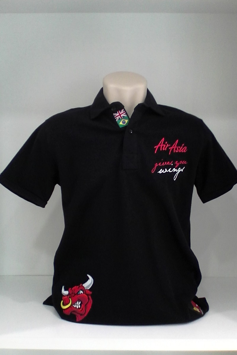 camisa polo powered red bull preta - g. Carregando zoom. e9645a7db2b
