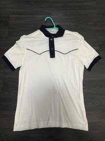823b03e45 Camisa Polo Prada - Pólos Manga Curta Masculinas Branco no Mercado Livre  Brasil