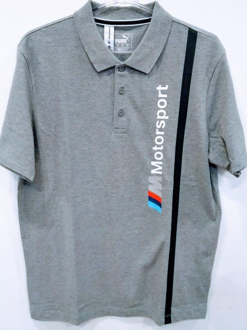 camisa polo puma bmw motorsport mms cinza. Carregando zoom. ce2c6e1a17515