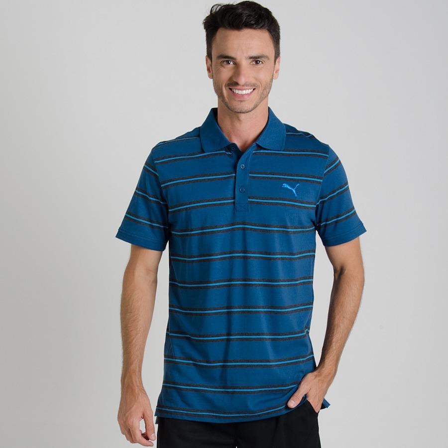 59362d37f1de Camisa Polo Puma Fun Stripe Jersey - R  74,90 em Mercado Livre