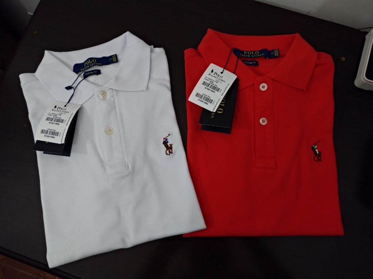 camisa polo r lauren masculina peruana 3 unidades. Carregando zoom. 90c25fa31229f