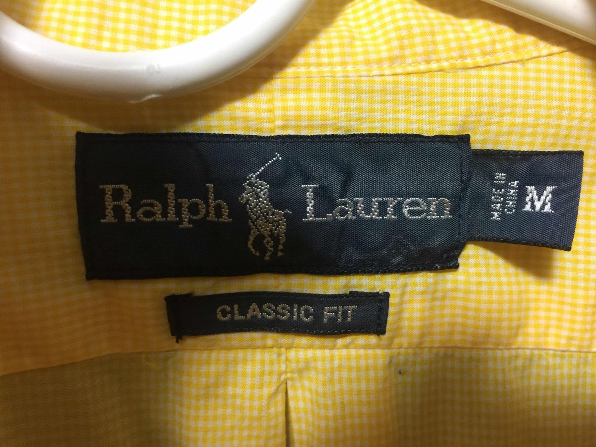 Camisa Polo Ralph Lauren Amarilla Original -   590.00 en Mercado Libre 6d15cdf8649