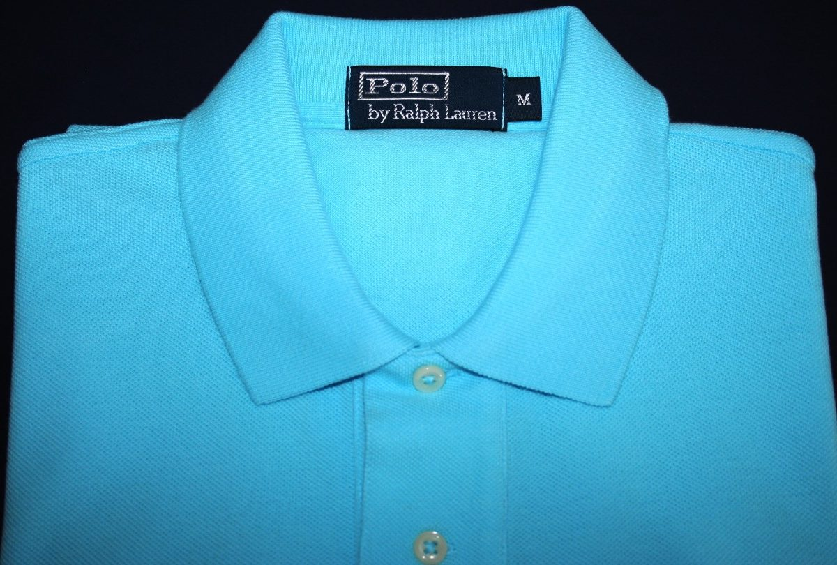 Camisa Polo Ralph Lauren Azul Claro Tam. M - R  199 0ff561260a9