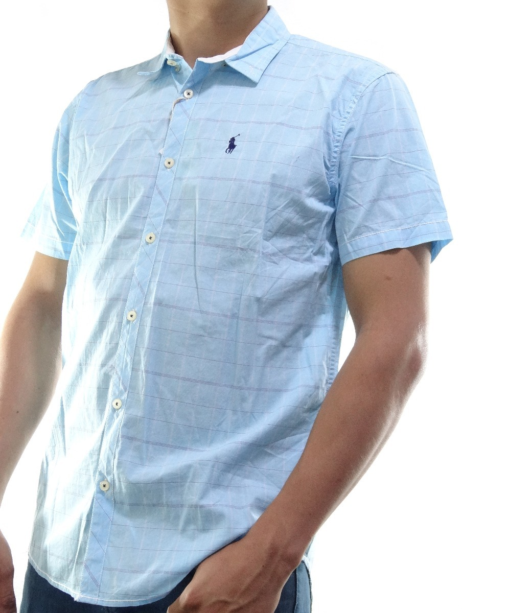 Camisa Polo Ralph Lauren Azul Xl Y S Original Algodon -   699.00 en ... 34d4451fcd0