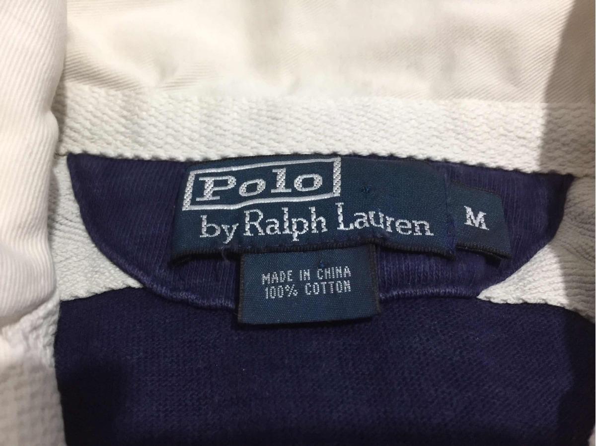 Camisa Polo Ralph Lauren Azul Y Amarillo Cuello Blanco -   590.00 en ... 09fea193ebb