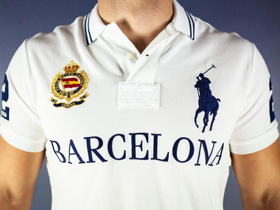 8167e2af2b30d camisa polo ralph lauren barcelona + los angeles. Carregando zoom.