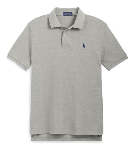 camisa polo ralph lauren cinza fotos reais original