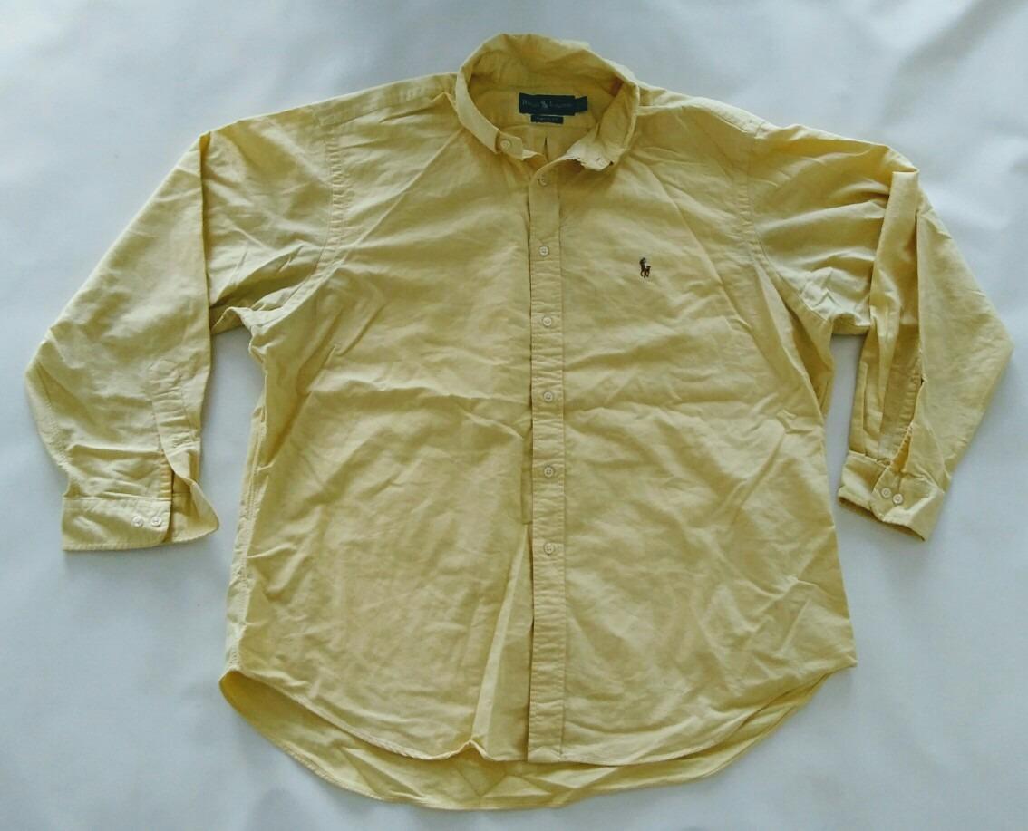 b5c5e539a2f06 camisa polo ralph lauren clasica manga larga hombre talle 18. Cargando zoom.
