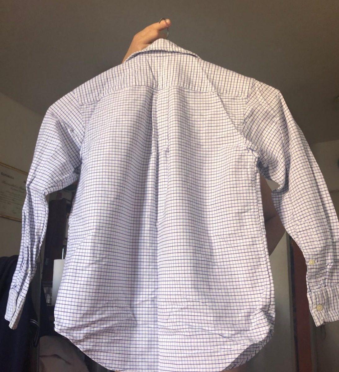 Camisa Polo Ralph Lauren Cuadriculada Azul Y Blanca -   500,00 en ... c1876c07bd8