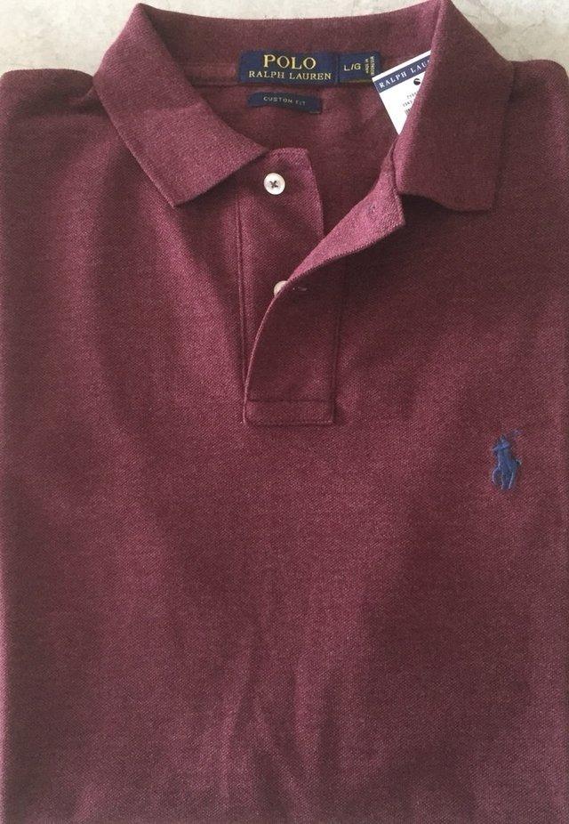 a298488baf camisa polo ralph lauren custom fit masculina original. Carregando zoom.
