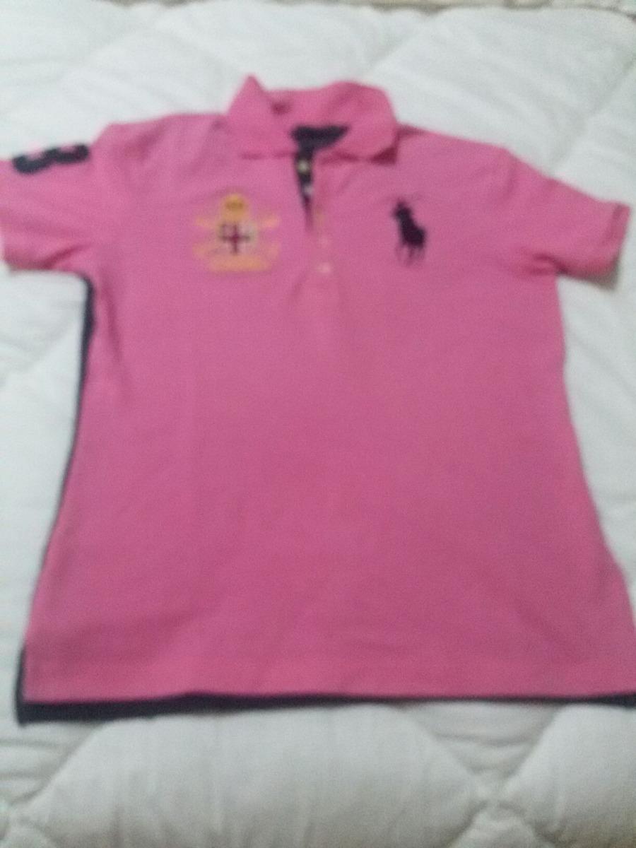 camisa polo ralph lauren feminina original tam xl fit. Carregando zoom. 472929f197e
