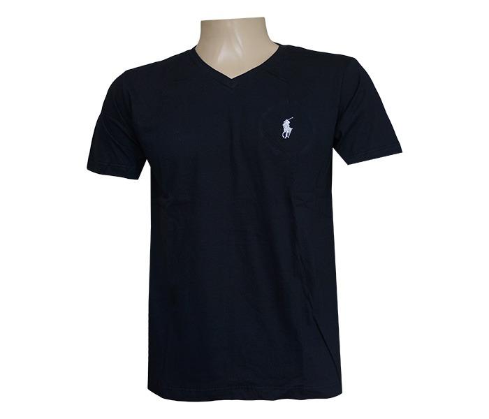 a30c2eac69 Camisa Polo Ralph Lauren Gola V Preta - R  134